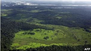 Foto de arquivo da Amazônia brasileira
