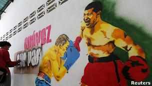 Graffiti de Chávez