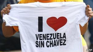 Camiseta contra Chávez