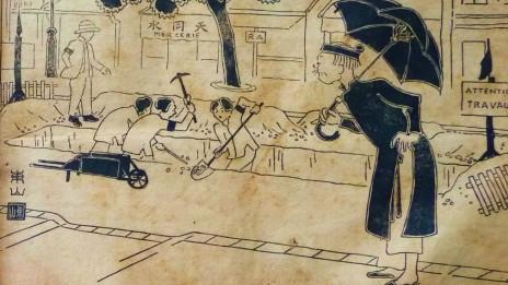 Một biếm họa trên Phong Hóa