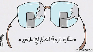 Caricaturas del Medio Oriente