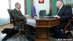 Путин и Кони