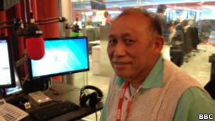 BBC緬甸部記者敏瑞