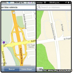 Bản đồ Apple