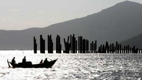 114 cọc thép của dự án cảng Vân Phong bị ngưng tại Khánh Hòa