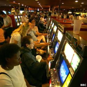 Foto de arquivo de cassino em Las Vegas (BBC)