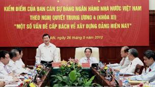 Một phiên họp phê và tự phê của Đảng