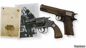 Armas de Bonnie & Clyde
