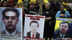 Manifestiación pidiendo la liberación de secuestrados de las FARC