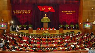 Toàn cảnh hội nghị trung ương 6