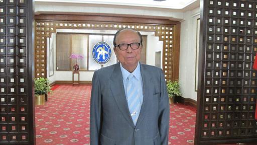 年近九十的台湾退休外交官柯振华