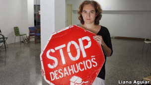 Ada Colau (Foto: Liana Aguiar / BBC Brasil)