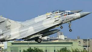 台湾空军幻象2000-5型战斗机