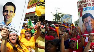 Manifestaciones electorales en Venezuela