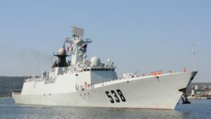 中国护卫舰(档案资料图片)