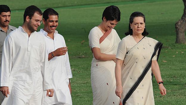 सोनिया गाँधी, राहुल गाँधी, प्रियंका गाँधी