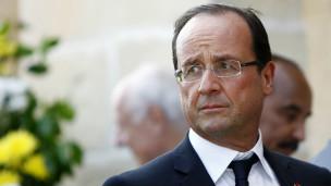Rais Franois Hollande wa Ufaransa