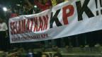 Demonstrasi mendukung KPK