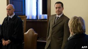 Paolo Gabriele en audiencia judicial
