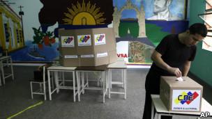 Votante en Venezuela