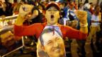 An sake zabar Hug Chavez