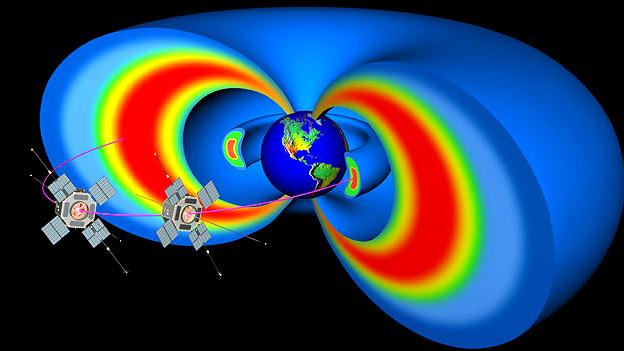 Sondas gemelas RBSP Imagen NASA