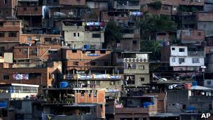 Favela em Caracas