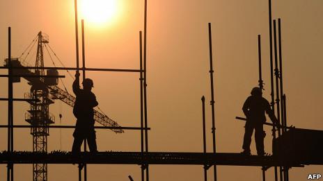 中国建筑工地