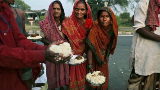 भारत में भुखमरी