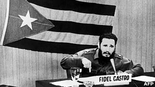 Fidel Castro, en octubre de 1962