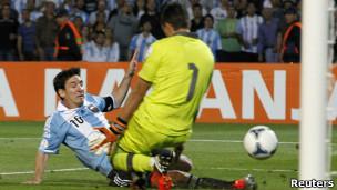 Messi con la selección