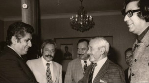 خسرو پرویزی و ویلیام وایلر