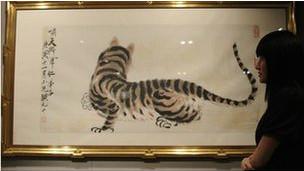 Một bức họa của họa sỹ Trung Quốc