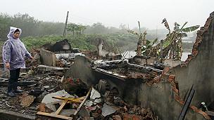Tài sản bị đập phá của gia đình ông Vươn