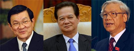 Các lãnh đạo Đảng CSVN