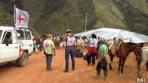 FARC QG | Crédito: Arturo Wallace - BBC