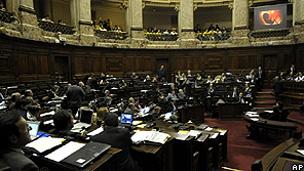 Congresso uruguaio, em foto de arquivo