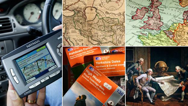 Mapas digitales y mapas de papel