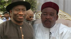 Goodluck Jonathan da Mahamadou Issoufou