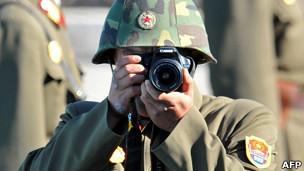 Soldado de Corea del Norte
