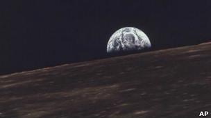 Imagen de la Tierra desde la Luna