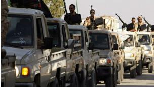 Wanajeshi wa Serikali ya Libya