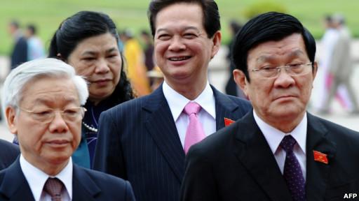 Lãnh đạo Việt Nam trước phiên khai mạc Quốc hội