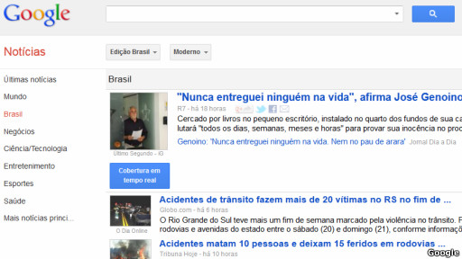 Google noticias