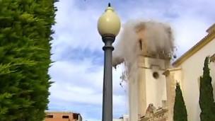 Imagen del terremoto de Lorca en 2011