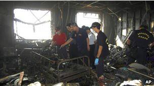 Cháy tại bệnh viện Đài Loan