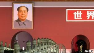 天安门广场毛泽东像