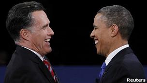 Ông Romney và Obama