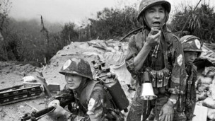 Quân Trung Quốc trong một trận đánh Việt Nam 10/1986