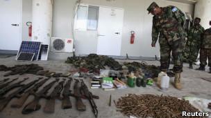 Armas de Al Shabaab